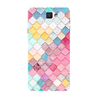 HACHI Beautiful Pattern Mobile Cover For Samsung Galaxy On7 (2016)