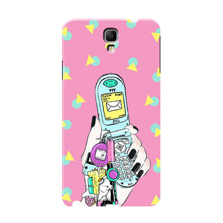 HACHI Cool Case Mobile Cover For Samsung Galaxy Note 3 Neo