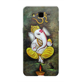 HACHI OM Ganpati Bhagwan Ji Mobile Cover For Samsung Galaxy On7