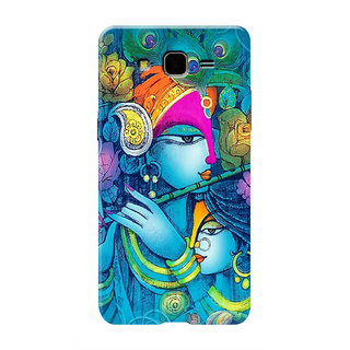 HACHI Radha Krishna Ji Mobile Cover For Samsung Galaxy On5