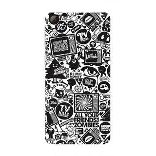 HACHI Cool Case Mobile Cover For HTC Desire 826