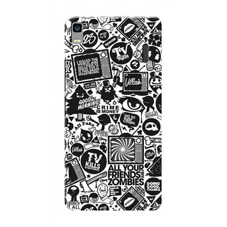 HACHI Cool Case Mobile Cover For Lenovo K3 Note :: Lenovo A7000 Turbo