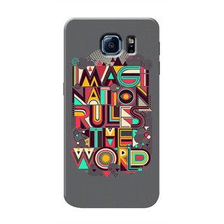 HACHI Imagination Mobile Cover For Samsung Galaxy S6 Edge Plus