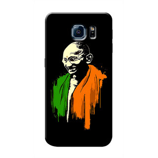 HACHI Indian Flag Mobile Cover For Samsung Galaxy S6 Edge