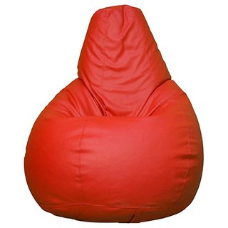 UK Bean Bags Classic Bean Bag Cover Red Size XXL