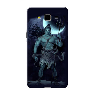 HACHI Lord Shiva Mobile Cover For Samsung Galaxy On7 Pro