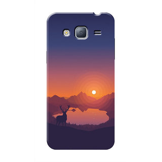 HACHI Cool Case Mobile Cover For Samsung Galaxy J3