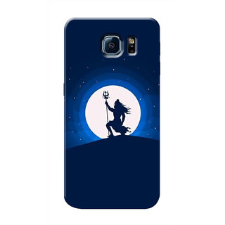 HACHI Lord Shiva Mobile Cover For Samsung Galaxy S6 Edge