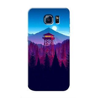 HACHI Cool Case Mobile Cover For Samsung Galaxy S6 Edge