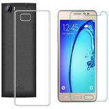 Soft Transparent Back Cover with 25HD Tempered Glass for Infocus Epic 1