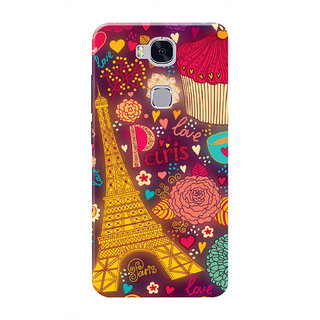 HACHI Love Paris Mobile Cover For Huawei Honor 5X :: Huawei Honor X5 :: Huawei GR5
