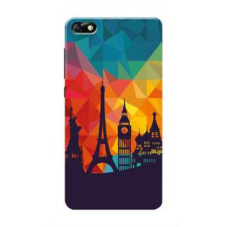 HACHI Beautiful City Mobile Cover For Huawei Honor 4X :: Huawei Glory Play 4X