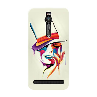 HACHI Colorful Mobile Cover For Asus Zenfone 2 ZE551ML