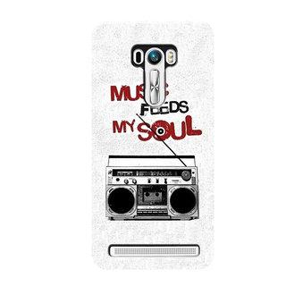 HACHI Cool Case Mobile Cover For Asus Zenfone Selfie ZD551KL