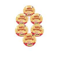 Funcart Funcart Stripe Birthday Theme 7 Disposable Pape