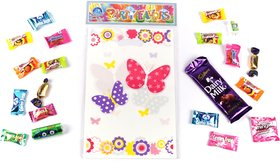 Funcart Funcart Flying Butterfly Theme Loot Bag (6 Pcs/