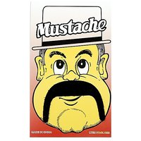 Funcart Single Stick On Moustache Design 1