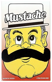 Funcart Single Stick On Moustache Design 4