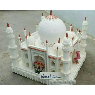Taj Mahal Model with Thermocol