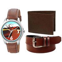 Jack Klein 1237 Round Dial Elegant Analogue Wrist Watch