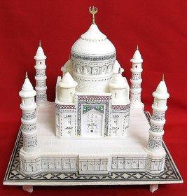 Taj Mahal Handmade For White Colour