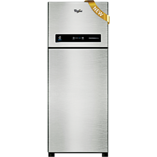 Whirlpool Professional 355 Elite 2S 340 L Double Door Refrigerator STEEL