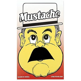 Funcart Single Stick On Moustache Design 8