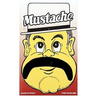 Funcart Single Stick On Moustache Design 6