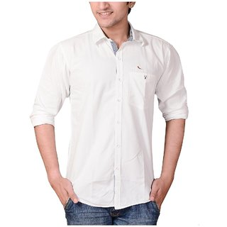 Men's Casual White Shirts