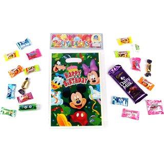 Funcart Mickey Mouse Theme loot bag (6 pcs/pack)