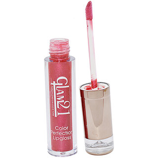 GLAM 21 COLOR PERFECTION LIP GLOSS  With Liner  Rubber Band -RHP-D3