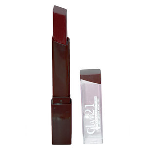 GLAM 21 LIPSTICK With Liner  Rubber Band - RPAA-S5