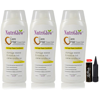 Nutriglow Care Hair Essantials Damage Repair Conditionar (Pack Of 3)