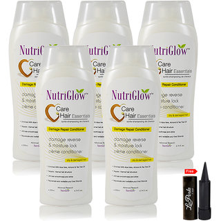Nutriglow Care Hair Essantials Damage Repair Conditionar (Pack Of 5)