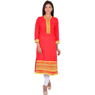 South Cotton Embroidery Indian Kurti TD2300
