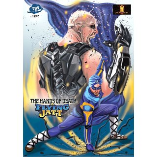 Buy A Flying Jatt And The Hands Of Death Action Superhero Comics Based On Bollywood Movie Online INR99 From ShopClues