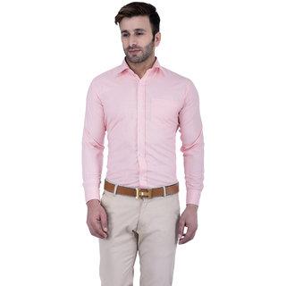 Lee Marc Men's Solid Formal Pink Shirt: Buy Lee Marc Men's Solid ...