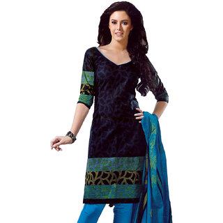 Bla& Blue Pure Cotton Dress Material