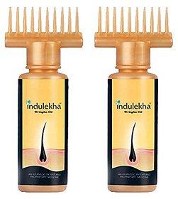 Indulekha Bringha Hair Oil Daily-use Bottle, 100ml (Pack of 2)