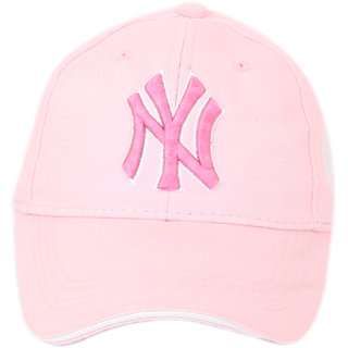 ILU NY snapback/ hiphop cap Pink Caps for Girls kids(3-12 Years)