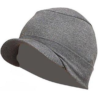 Buy Grey Head Cotton Cap Sports Winter Cap For Men Women Unisex Hat ... 88f2894da9d