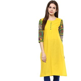 Casual Printed Women's Kurti (Unstitched)