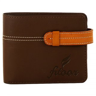 fitoor pu leather wallet for men
