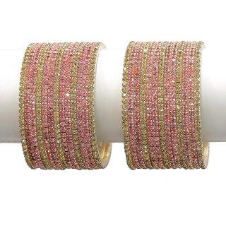 Beautiful Diamond Look Set of 26 Bangles For Women Wedding Jewelry