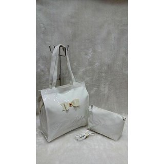 Designer Handbags High Quality Fashion White Colour