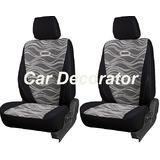 Car Seat Covers Printed Black For Tata Aria + Free Dvd Holder