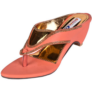 Somugi Women Peach Wedges