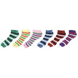 Gold Women's Socks (Pack Of 6)
