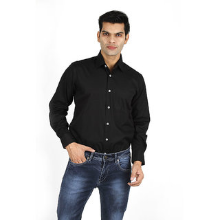 Men's Black Casual Shirt
