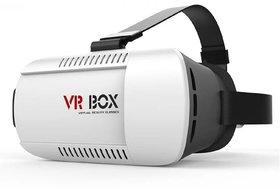 3D VR Virtual Reality 3D Video Glasses Head Mount  (Sma